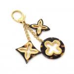 Louis Vuitton Bijous Sac Insolence Ecaille Brown Key Holder / Charm