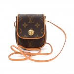Louis Vuitton Pochette Cancun Monogram Canvas Shoulder Mini Bag