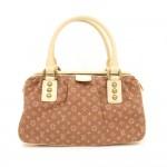 45 Louis Vuitton Trapeze PM Brown Mini Monogram Lin Hand Bag