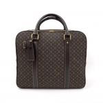 Louis Vuitton Epopee Dark Brown Mini Monogram Idylle Canvas Travel Rolling Luggage