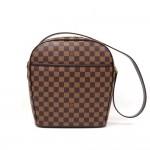 Louis Vuitton Ipanema GM Ebene Damier Canvas Shoulder Bag
