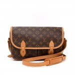 Vintage Louis Vuitton Sac Gibeciere MM Monogram Canvas Messenger Shoulder Bag