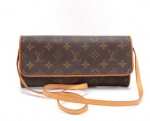Louis Vuitton Pochette Twin GM Monogram Canvas Shoulder Bag