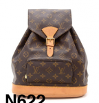 Louis Vuitton Moyen Montsouris MM Monogram Canvas Backpack Bag