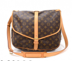 Louis Vuitton Saumur 35 Monogram Canvas Shoulder Bag