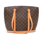 Louis Vuitton Babylone Monogram Canvas Tote Shoulder Bag