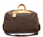 Louis Vuitton Alize 2 Poches Monogram Canvas Travel Bag + Strap