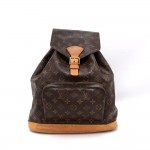Louis Vuitton Montsouris GM Monogram Canvas Backpack Bag