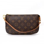 Louis Vuitton Pochette Accessories Monogram Canvas Hand Bag