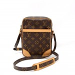 Louis Vuitton Danube Monogram Canvas Shoulder Pochette Bag