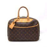 Louis Vuitton Deauville Monogram Canvas Hand Bag