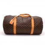 Vintage Louis Vuitton Sac Polochon 60 Monogram Canvas Large Duffel Bag