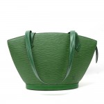 Vintage Louis Vuitton Saint Jacques PM Green Epi Leather Shoulder Bag