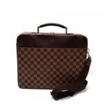 Louis Vuitton Porte Ordinateur Sabana Ebene Damier Briefcase Bag + Strap