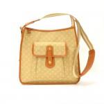 Louis Vuitton Besace Mary Kate Beige Mini Monogram Canvas Shoulder Bag