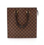 Vintage Louis Vuitton Venice PM Ebene Damier Canvas Tote Hand Bag