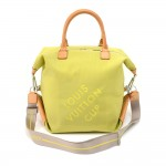 Louis Vuitton LV Cup 2003 Lime Damier Geant Canvas Boston Bag