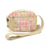 Chanel Multicolor Canvas Pochette Shoulder Bag