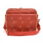 Vintage Louis Vuitton LV Cup 1995 Calvi Red Canvas Messenger Bag - Limited