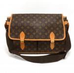 Vintage Louis Vuitton Sac Gibeciere GM Monogram Canvas Large Messenger Shoulder Bag