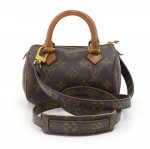 Vintage Louis Vuitton Mini Speedy Sac HL Monogram Canvas Hand Bag + Strap
