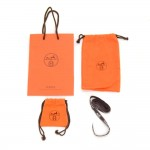 Hermes Orange Dust bags & Paper Bag for Small items Set + Ribbon