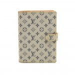 Louis Vuitton Agenda PM Mini Line Blue Monogram Canvas Agenda Cover