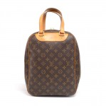 Louis Vuitton Excursion Monogram Canvas Travel Hand Bag