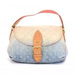 Louis Vuitton Sunshine Blue Ombre Monogram Denim Shoulder Bag