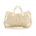 Louis Vuitton Marina GM Monogram Mini Lin Croisette Blue Shoulder Bag