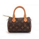 Louis Vuitton Mini Speedy Sac HL Monogram Canvas Hand Bag