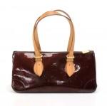 Louis Vuitton Rosewood Avenue Purple Amarante Vernis Leather Shoulder Bag