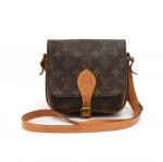 Louis Vuitton Cartouchiere PM Monogram Canvas Shoulder Bag