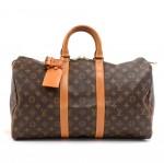 Vintage Louis Vuitton Keepall 45 Monogram Canvas Duffle Travel Bag