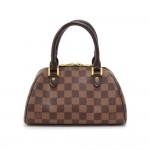 Louis Vuitton Mini Ribera Evene Damier Canvas Hand Bag