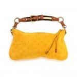 Louis Vuitton Onatah Pochette Yellow Fleurs Suede Leather Shoulder Bag - Limited Edition