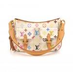 Louis Vuitton Lodge PM White Multicolor Monogram Canvas Shoulder Bag