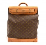 Louis Vuitton Steamer 35 Monogram Canvas Travel Bag