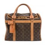 Vintage Louis Vuitton Sac Chaussures 40 Poches  Monogram Canvas Trunk Travel Bag