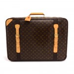 Vintage Louis Vuitton Satellite 65 Monogram Canvas Soft-sided Suitcase Travel Bag