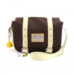 Louis Vuitton Besace PM LV Cup Chocolate Brown Antigua Canvas Messenger Bag