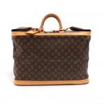 Louis Vuitton Cruiser 50 Monogram Canvas Travel Handbag