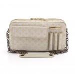 Louis Vuitton McKenna Silver Monogram Shine Canvas Shoulder Bag-2002 Limited Ed