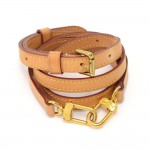 Louis Vuitton Cowhide Leather Adjustable Shoulder Strap For Small Bags