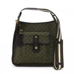 Louis Vuitton Besace Mary Kate Khaki Mini Monogram Canvas Shoulder Bag