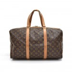 Vintage Louis Vuitton Sac Souple 45 Monogram Canvas Duffle Travel Bag