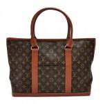 Vintage Louis Vuitton Sac Weekend Monogram Canvas Tote Bag
