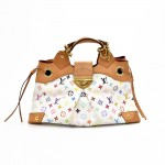 Louis Vuitton Ursula White Multicolor Monogram Canvas Shoulder Bag