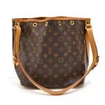 Vintage ouis Vuitton Petit Noe Monogram Canvas Shoulder Bag
