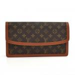 Louis Vuitton Pochette Dame GM Monogram Canvas Clutch Bag-1980s
